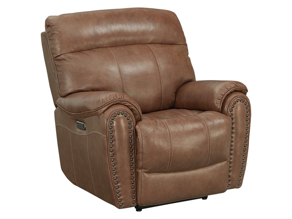 Bassett Bridgeport - Club LevelWallsaver Recliner with Power HR