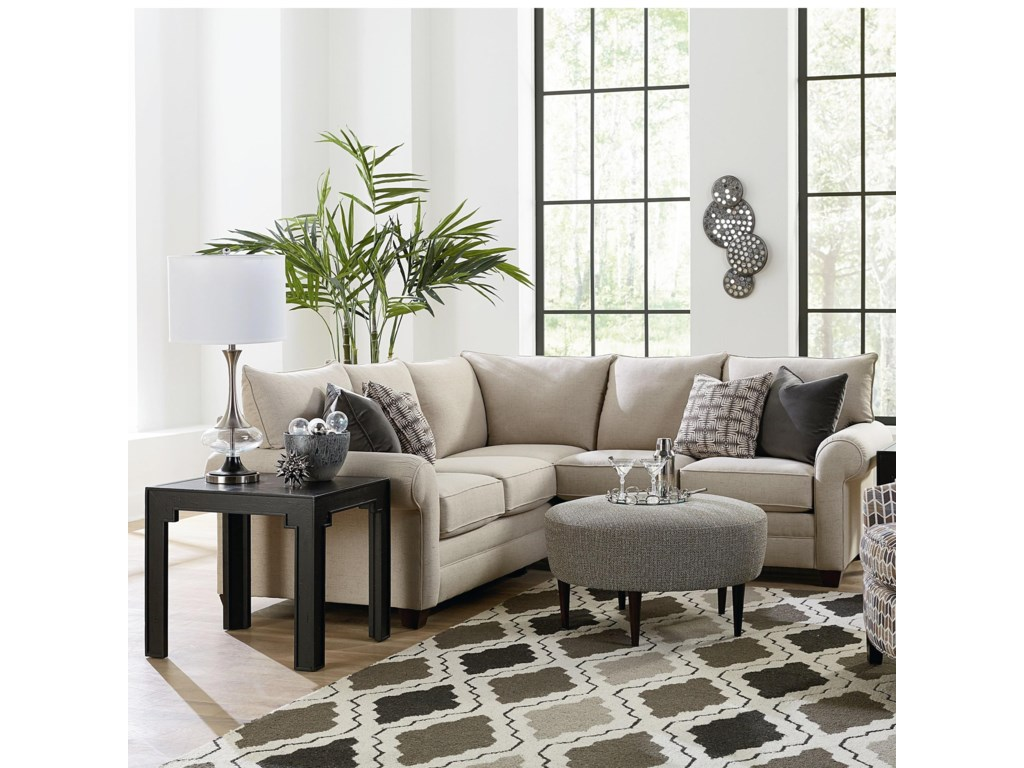 Bassett CameronSectional Living Room Group