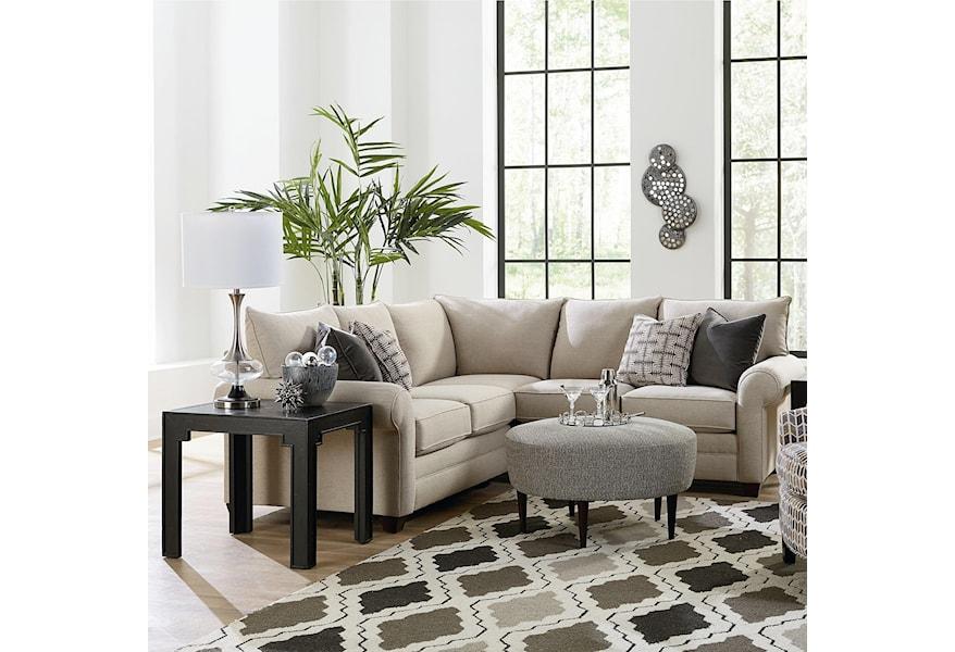 Bassett Cameron Sectional Living Room Group   Bassett of ...