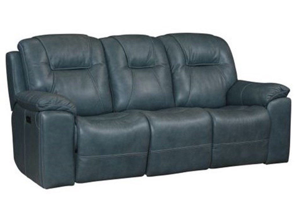 Bassett Club Level - Chandler 3739-P62B Casual Reclining Sofa With Cup Holders | Dean Bosler