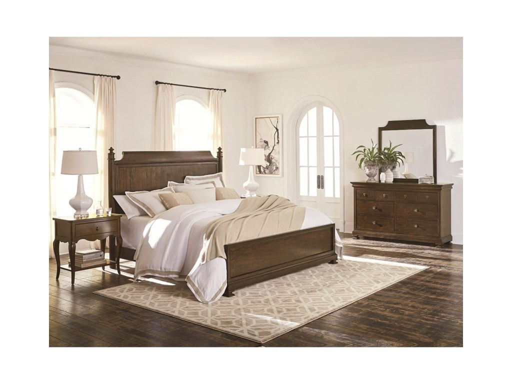 Bassett ChateauKing Panel Bed