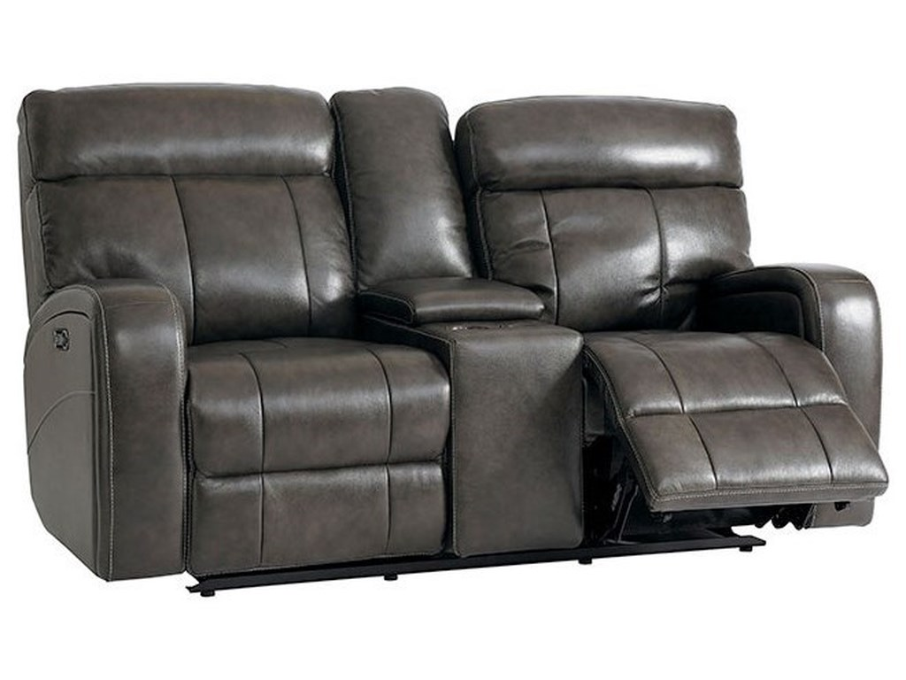 Bassett BeaumontPower Reclining Loveseat