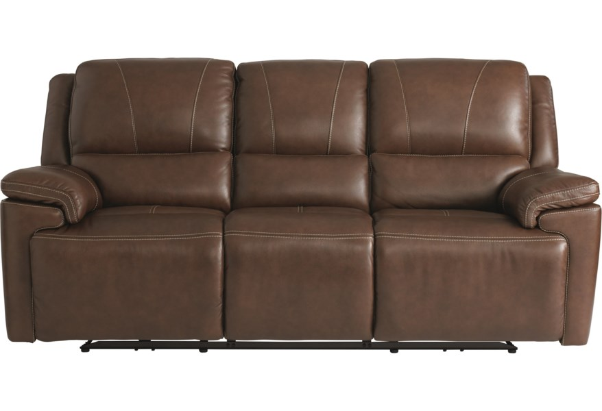 Bassett Club Level Colton Casual Power Reclining Sofa With