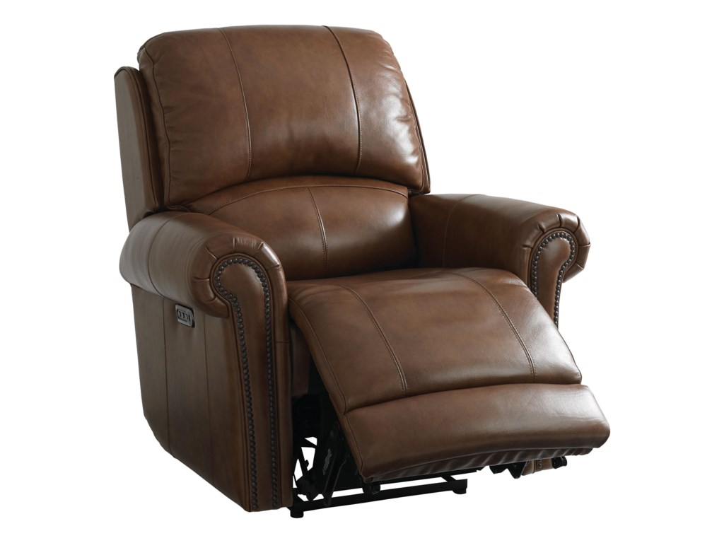 a leather recliner tilton hero
