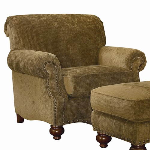 Bassett Club Room Traditional Upholstered Chair