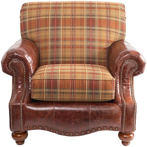 Bassett Club Room Traditional Upholstered Chair