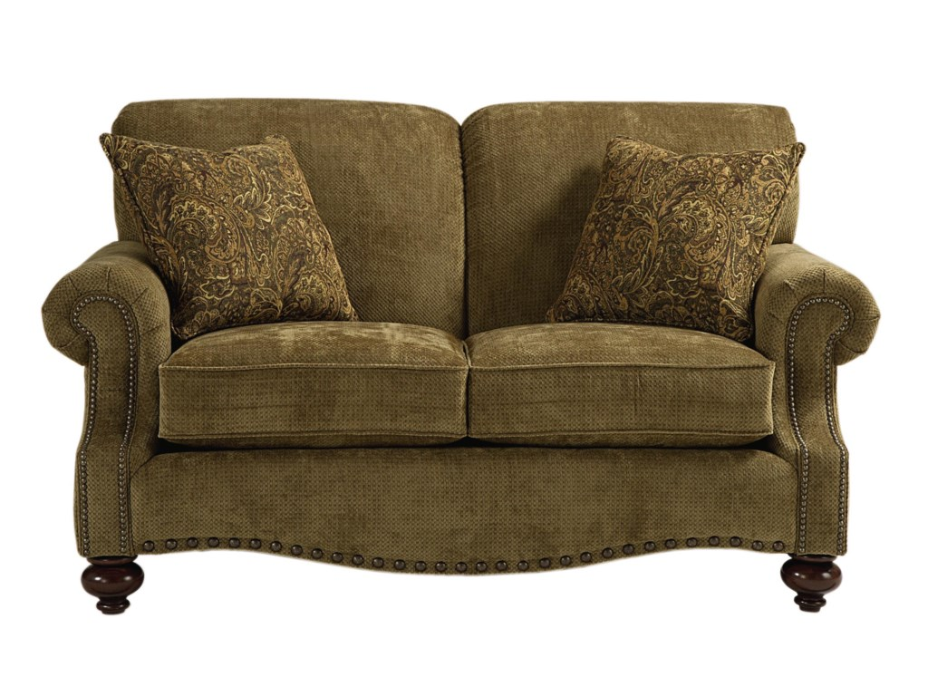 Bassett Club RoomLove Seat