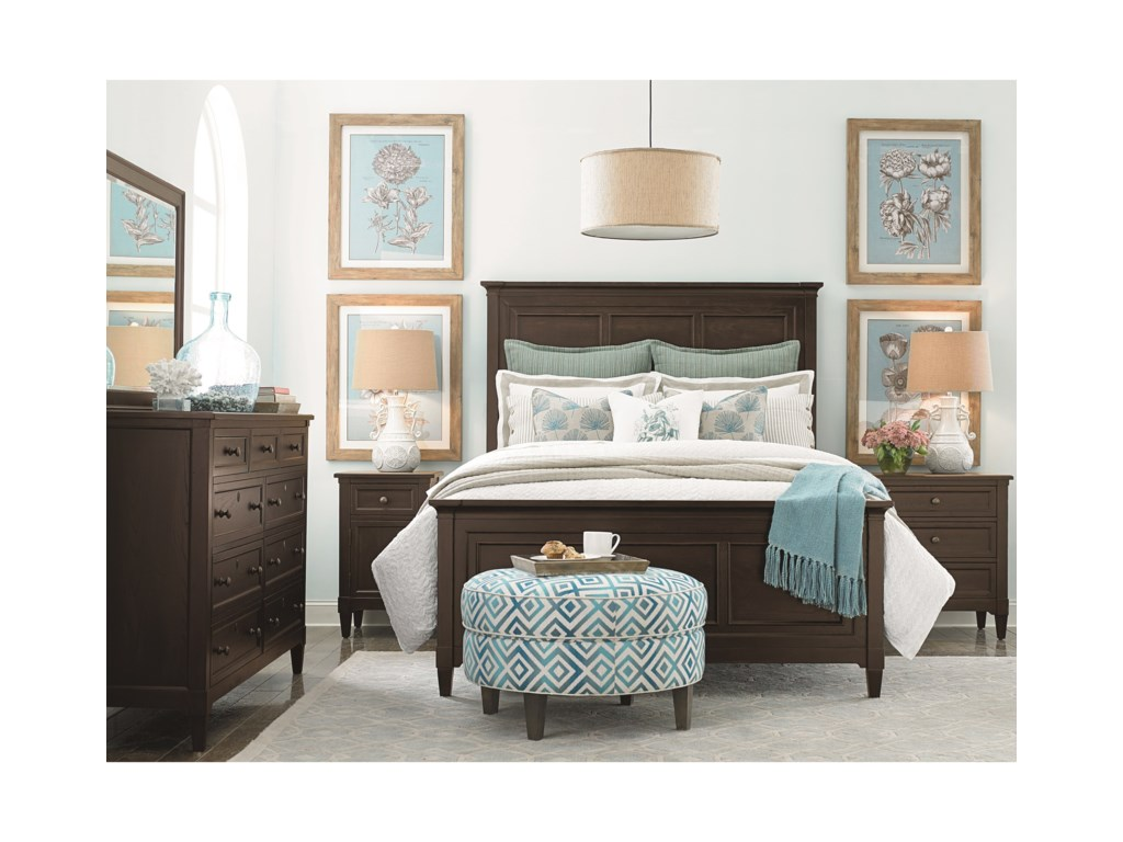 Bassett CommonwealthComplete California King Panel Bed