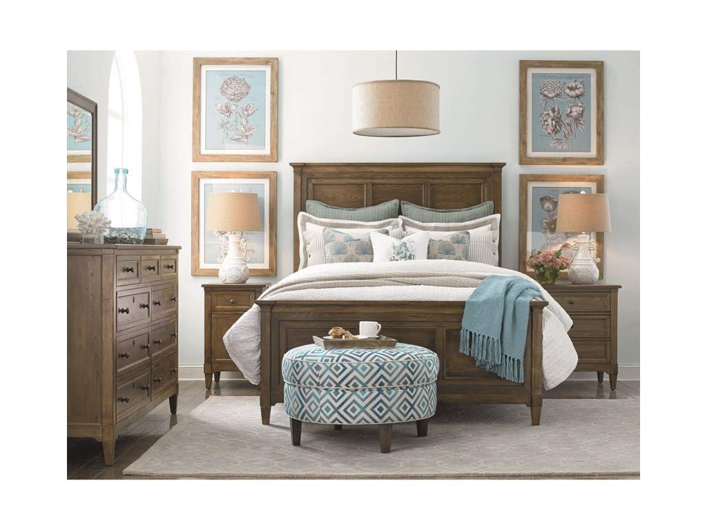 Bassett CommonwealthComplete Queen Panel Bed