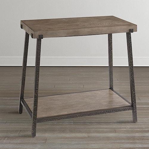 Bassett Compass Chairside Table
