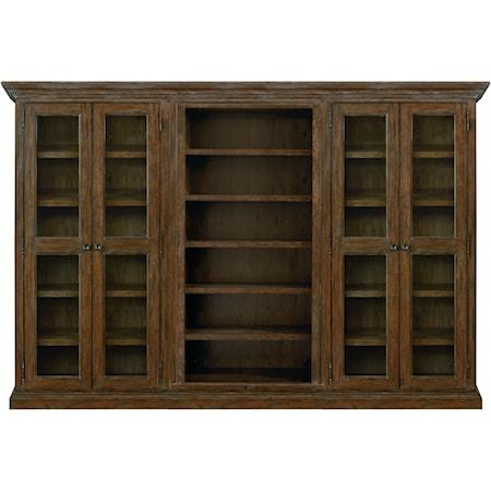 3-Piece Wall Bookbase