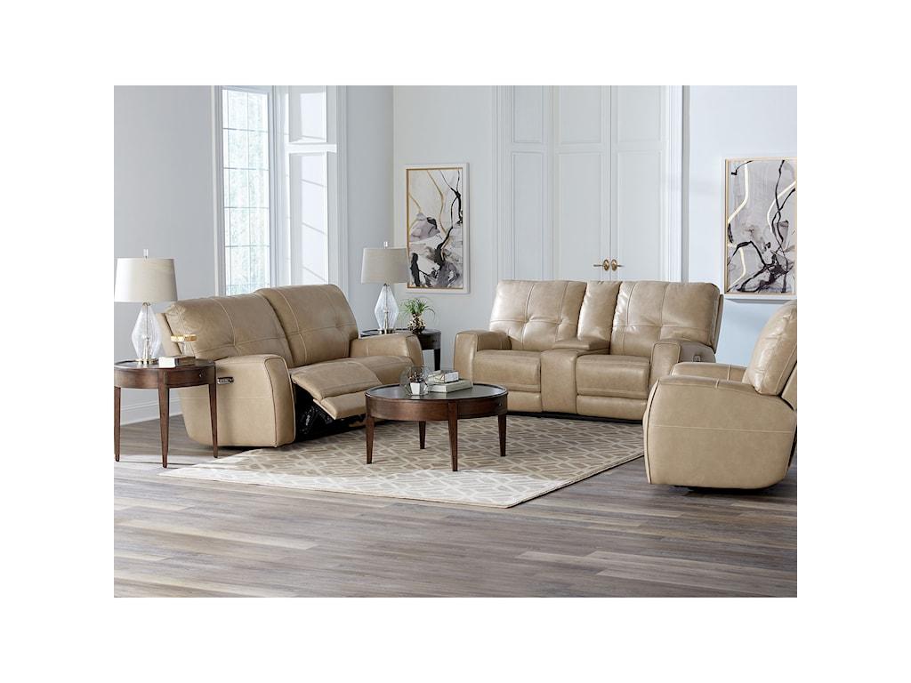 Bassett ConwayPower Reclining Sofa