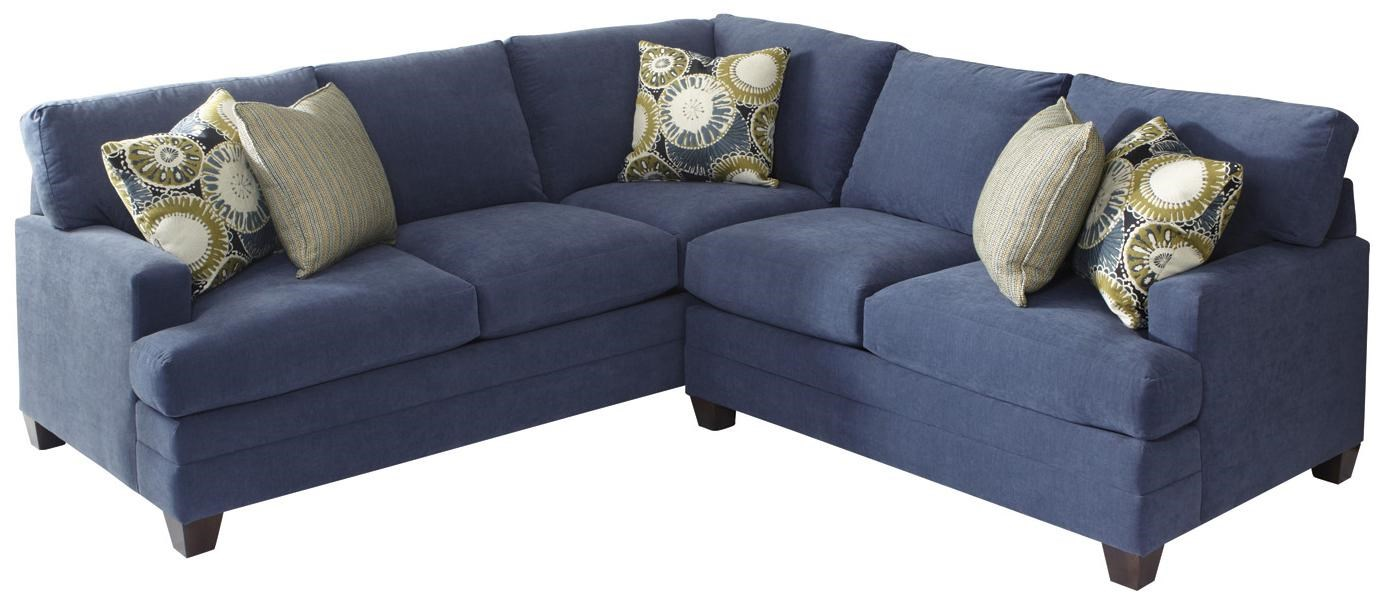Bassett CU.2 L Shaped Upholstered Sectional Group  sc 1 st  Wayside Furniture : bassett cu2 sectional - Sectionals, Sofas & Couches