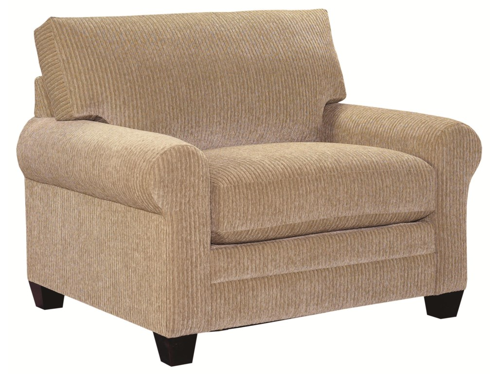 Bassett CU.2Upholstered Chair and a Half