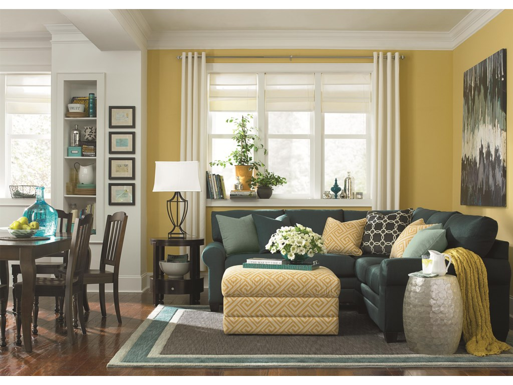 Shown in Room Setting with Coordinating Accent Furniture