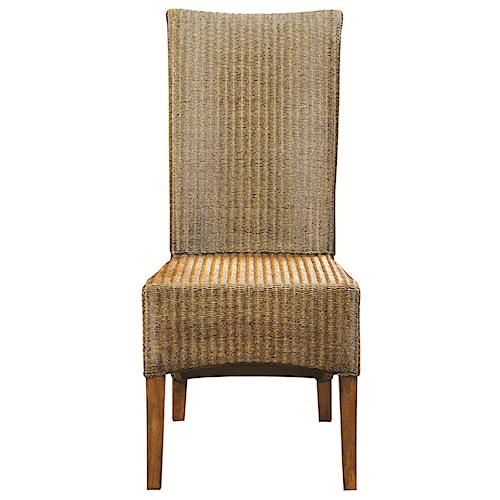 Bassett Custom Dining 4469 Woven Loom Side Chair