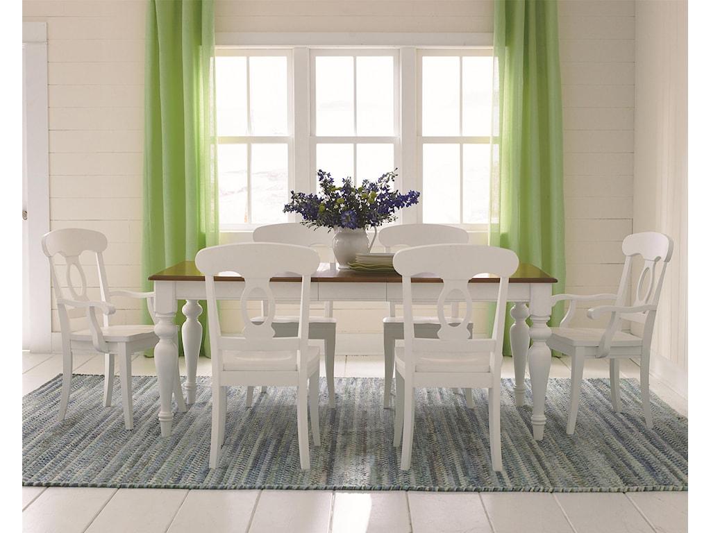 Bassett Custom Dining 4469<b>Customizable</b> Rectangle Kitchen Table