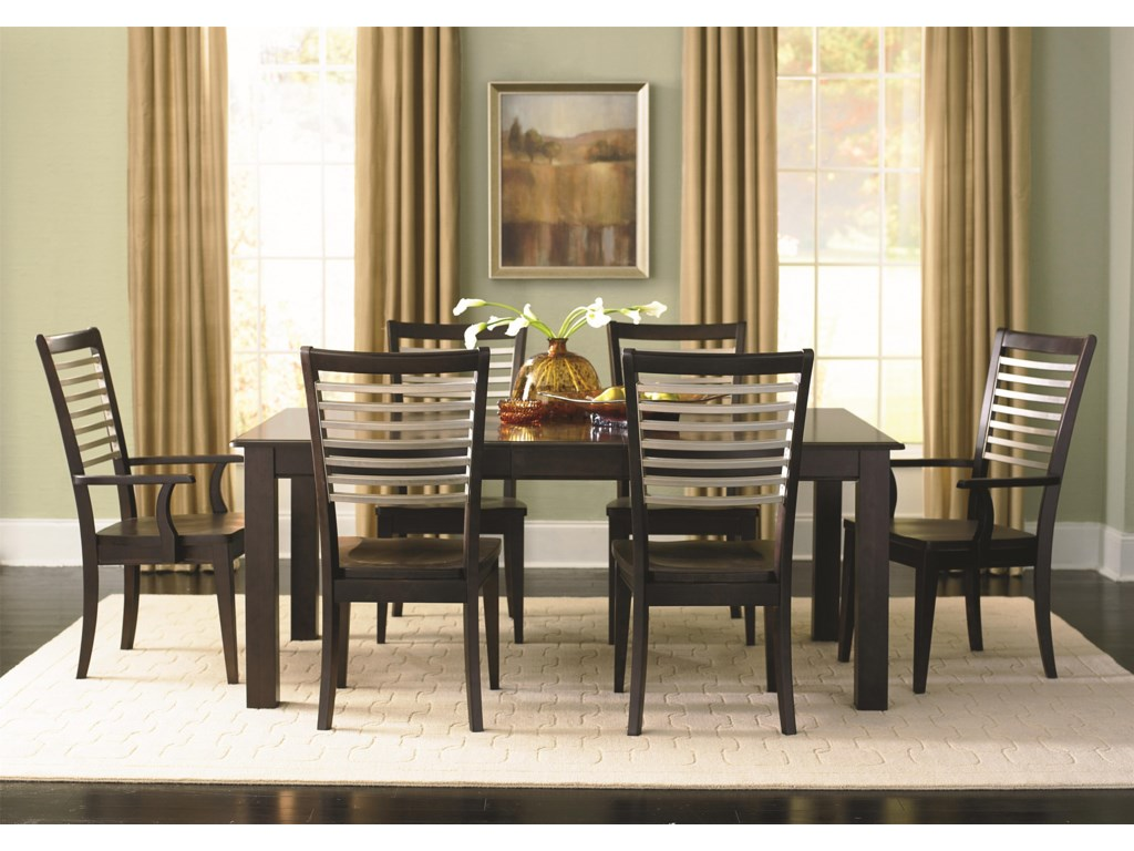 Bassett Custom DiningCustomizable Rectangle Dining Table