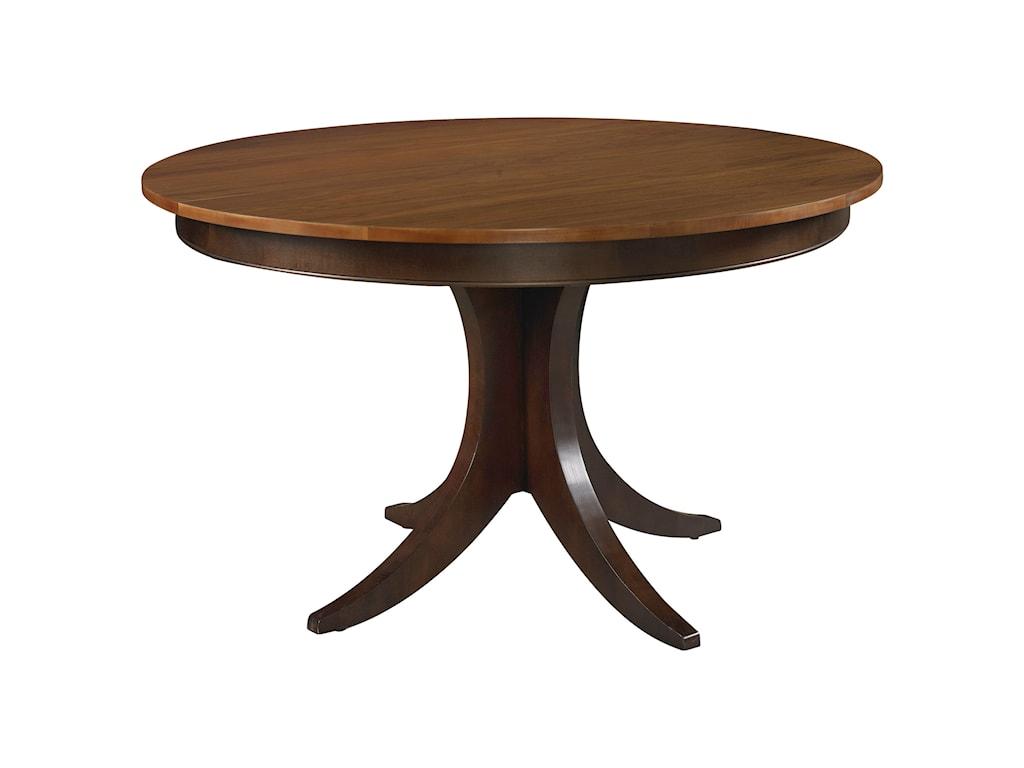 Bassett Custom DiningCustomizable Round Pedestal Table