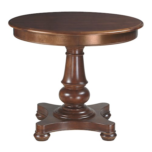 Bassett Custom Dining 4469 <b>Customizable</b> Round Pedestal Dining Table