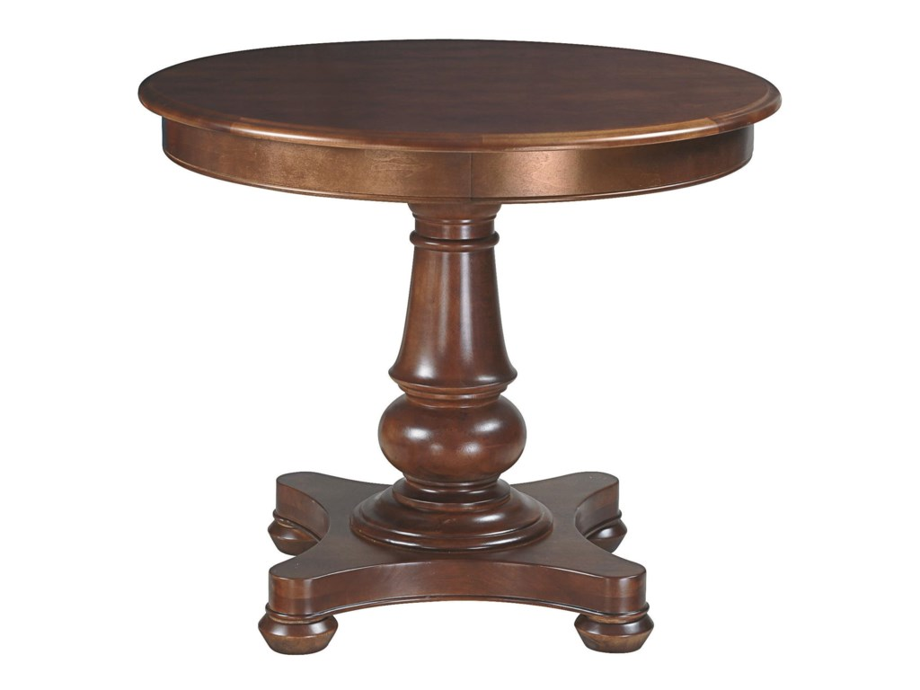 Bassett Custom Dining 4469<b>Customizable</b> Round Pedestal Table