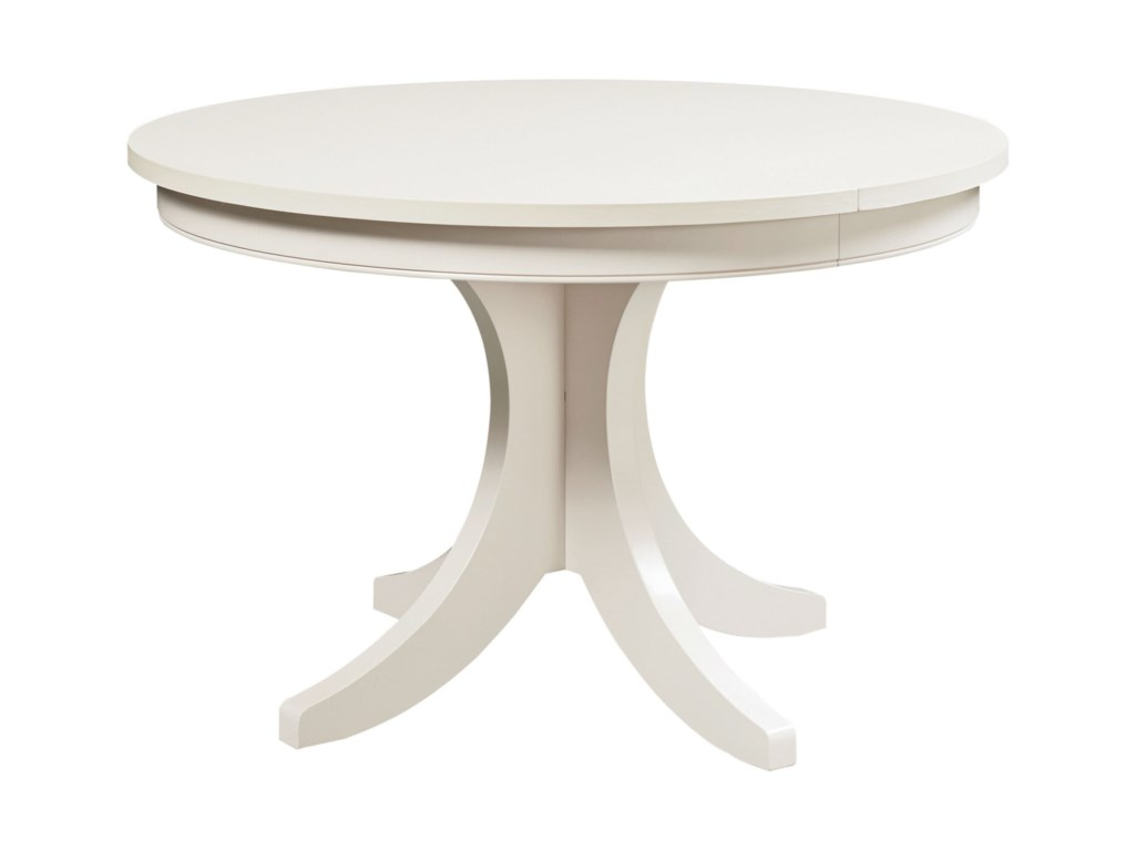 Custom Dining Customizable Round Pedestal Table