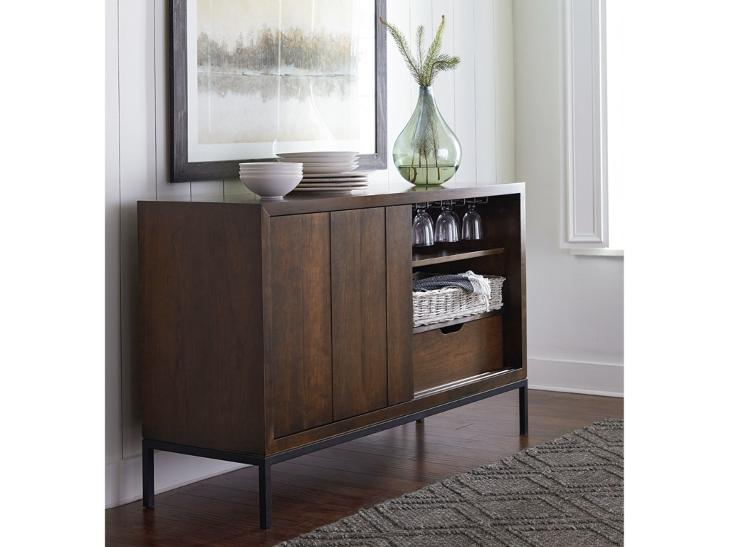 Bassett Custom DiningSliding Door Sideboard