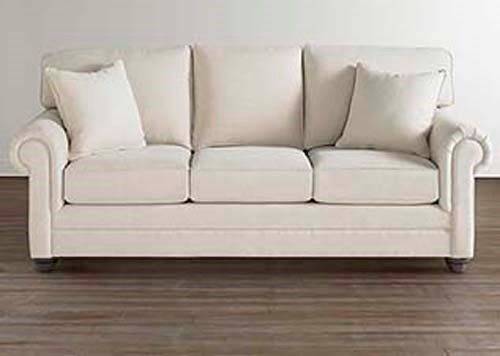 Bassett Custom SofasCustom Sofa with Rolled Arms