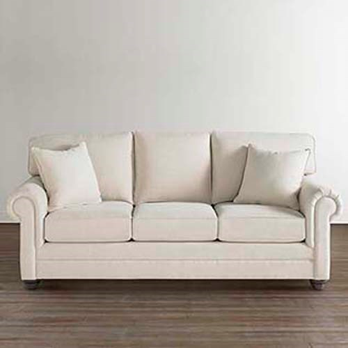 Bassett Custom SofasCustom Sofa With Rolled Arms