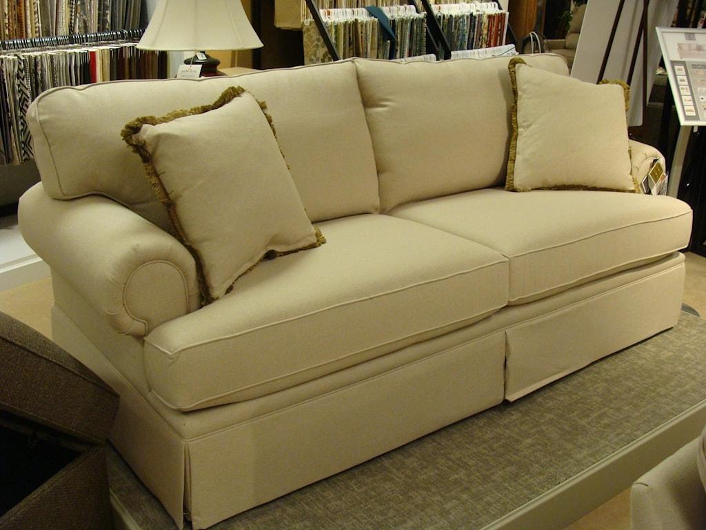 Bett Custom Sofascustom Sofa With Rolled Arms