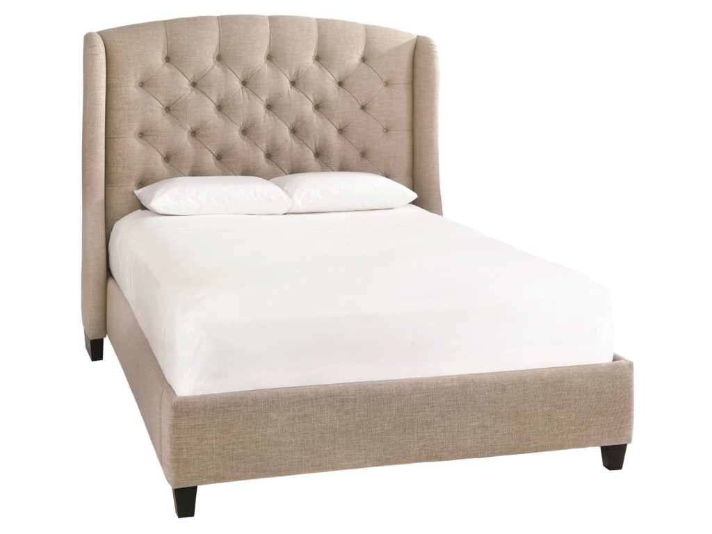 Bassett Custom Upholstered BedsParis King Size Upholstered Bed