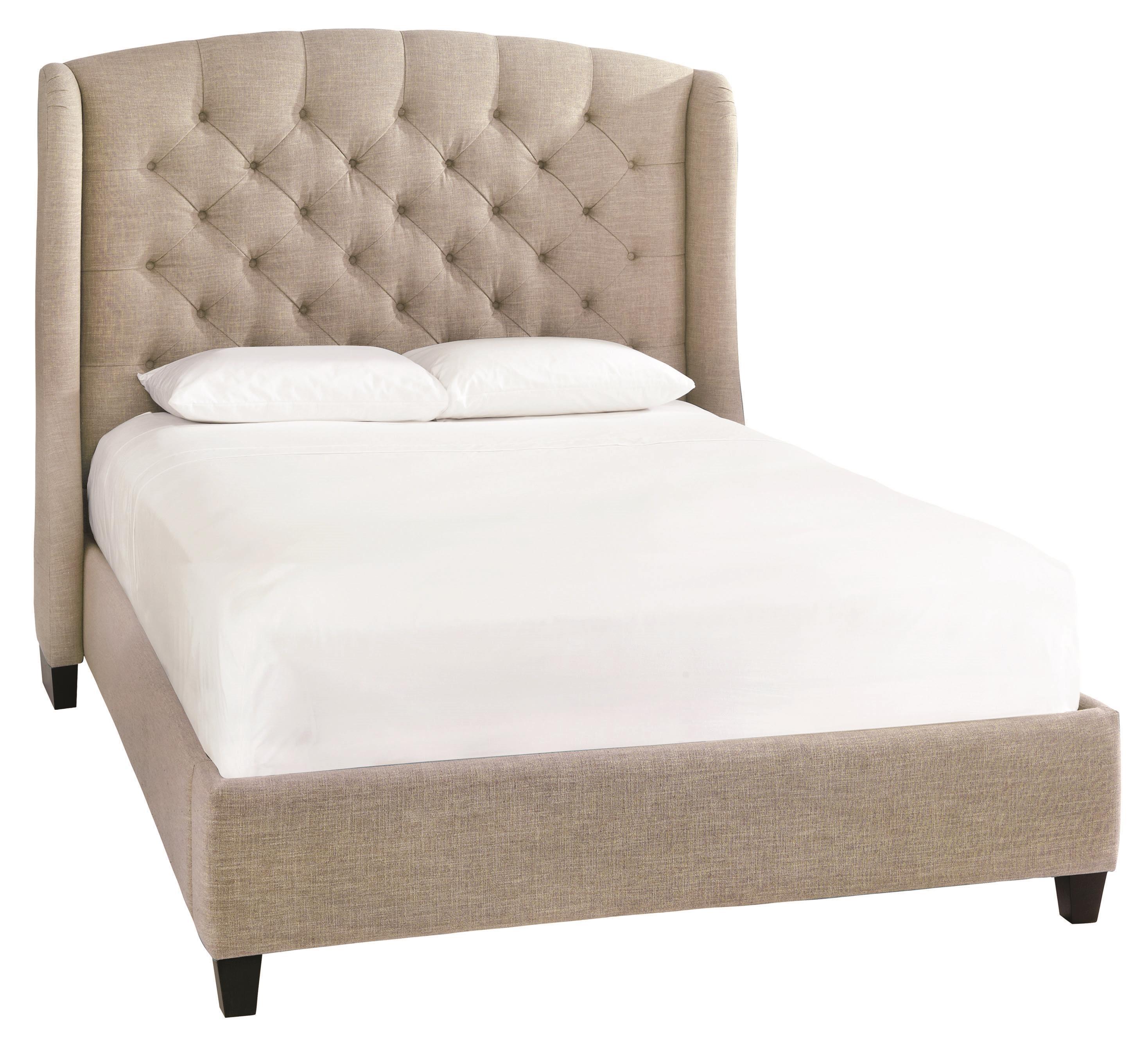 Bassett Custom Upholstered BedsParis Queen Size Upholstered Bed