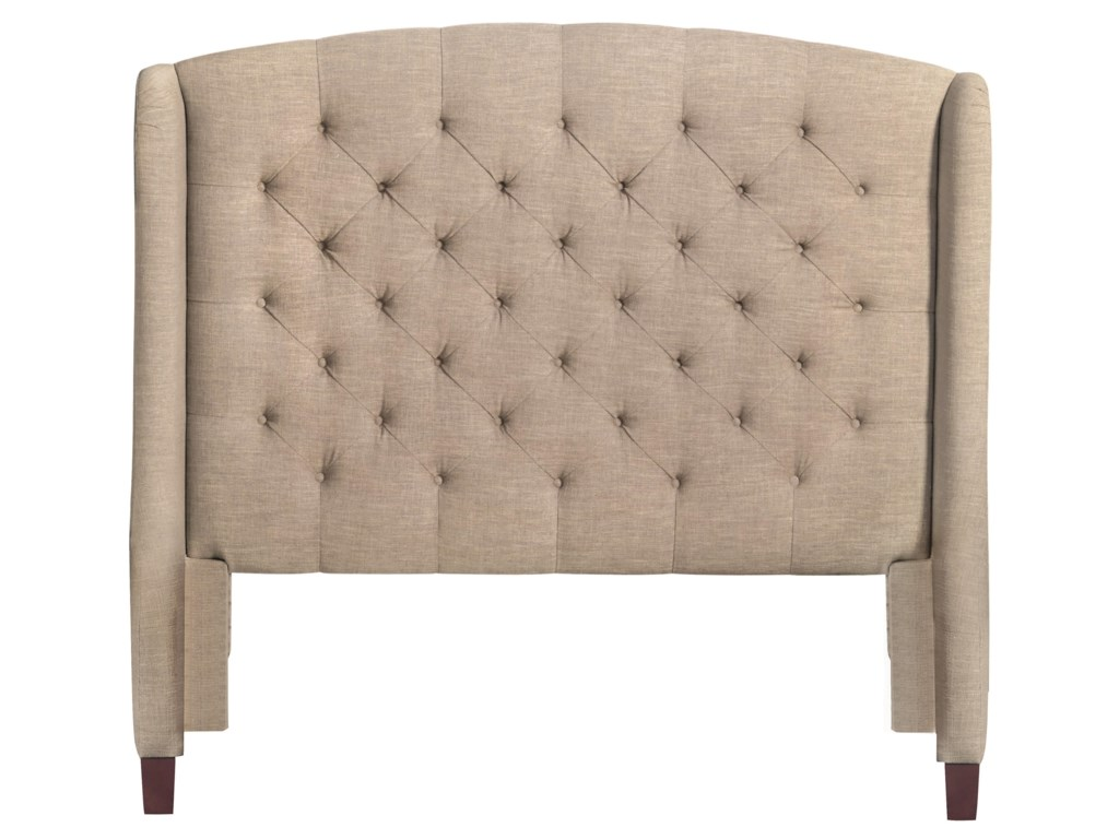 Bassett Custom Upholstered BedsParis Upholstered Queen Size Headboard