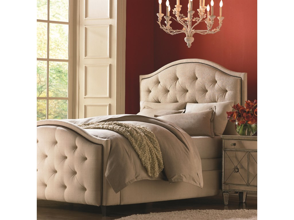 Bassett Custom Upholstered BedsTwin Vienna Upholstered Bed with High FB