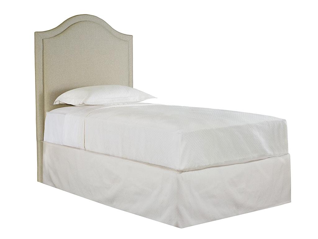 Bassett Custom Upholstered BedsTwin Vienna Upholstered Headboard