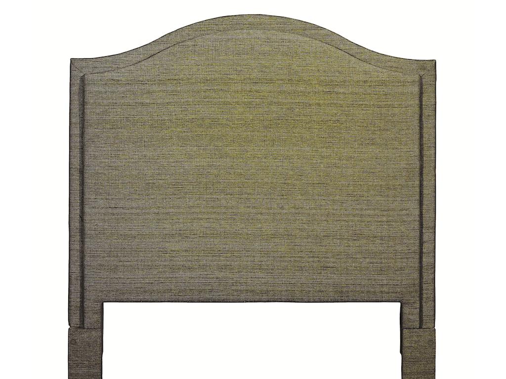 Bassett Custom Upholstered BedsFull Vienna Upholstered Headboard