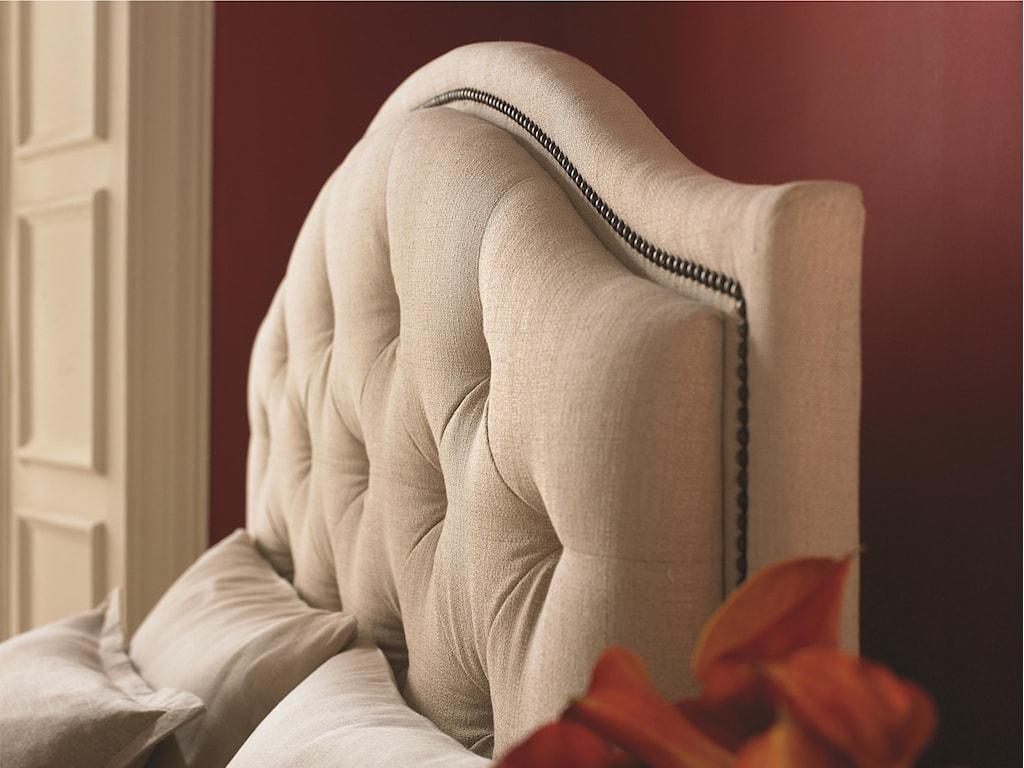 Bassett Custom Upholstered BedsQueen Vienna Upholstered Headboard