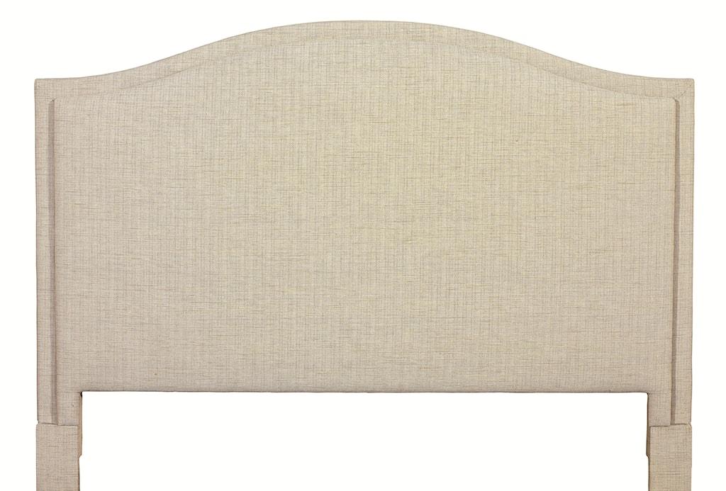 Custom Upholstered Headboards bassett custom upholstered beds king vienna upholstered headboard