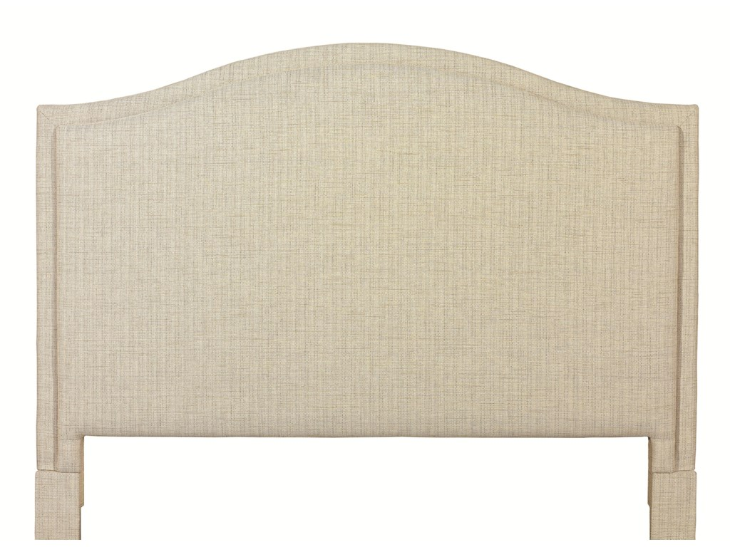 Bassett Custom Upholstered BedsCalifornia King Vienna Upholstered Headboard