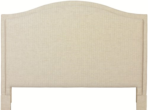 Bassett Custom Upholstered Beds California King Vienna Upholstered Headboard