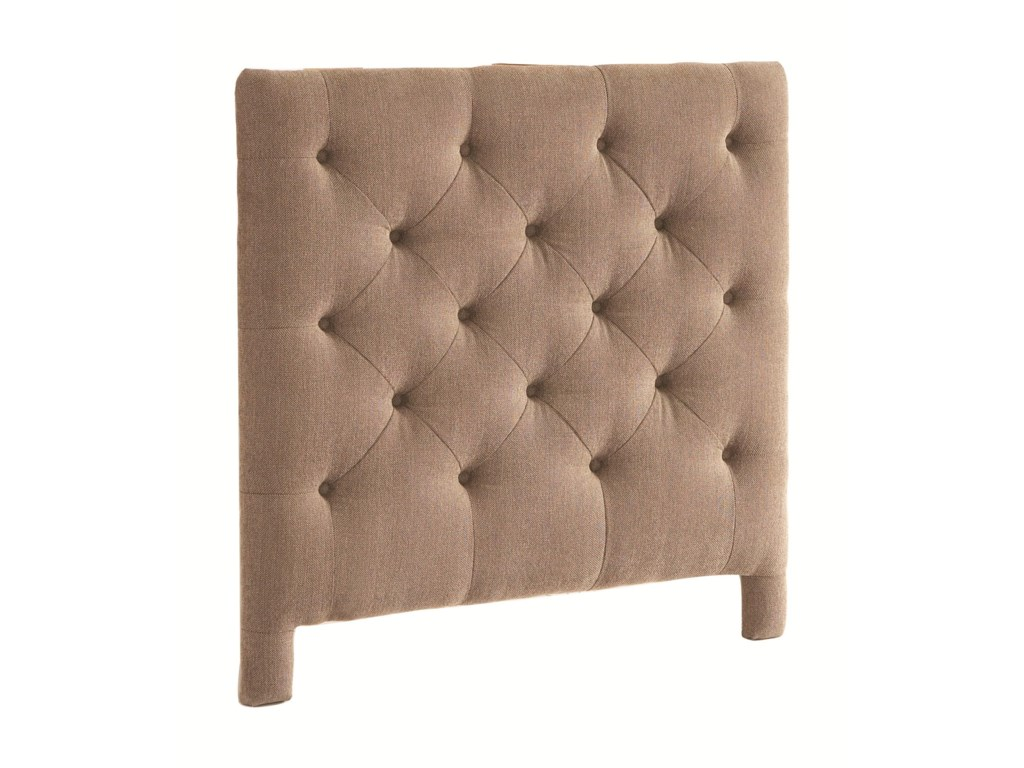 Bassett Custom Upholstered BedsQueen Manhattan Upholstered Headboard