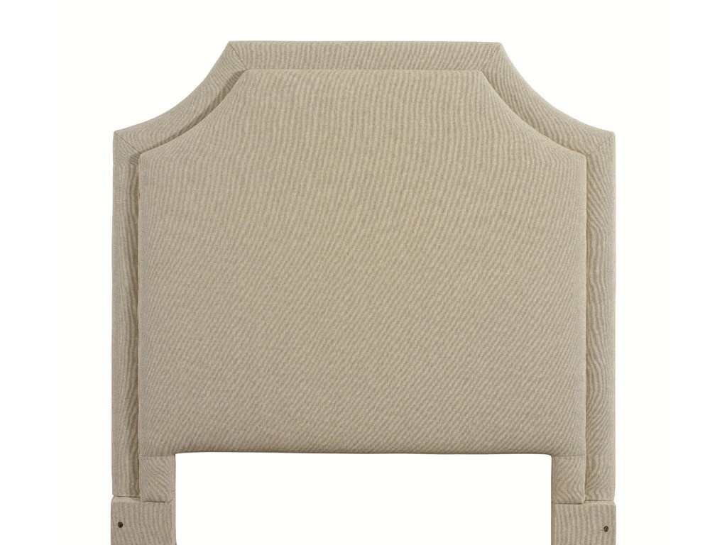 Bassett Custom Upholstered BedsKing Florence Upholstered Headboard