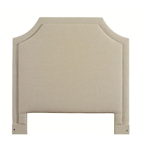 Bassett Custom Upholstered Beds Full Florence Upholstered Headboard