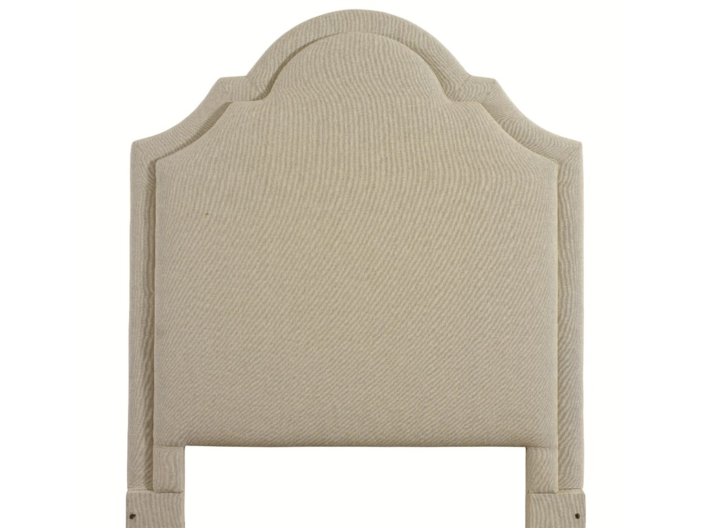 Bassett Custom Upholstered BedsTwin Barcelona Upholstered Headboard