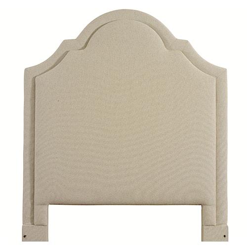 Bassett Custom Upholstered Beds King Barcelona Upholstered Headboard