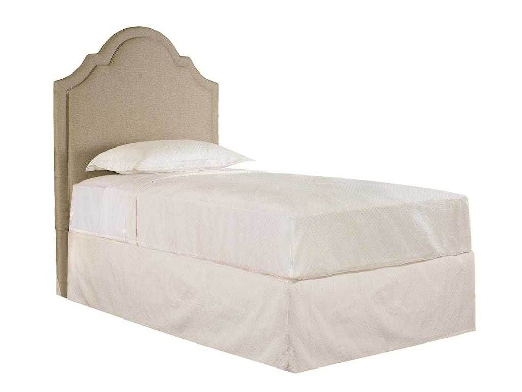 Bassett Custom Upholstered BedsKing Barcelona Upholstered Headboard
