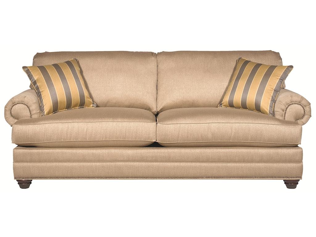 Bassett Custom Upholstery - Estate<b>Custom</b> Queen Sleeper