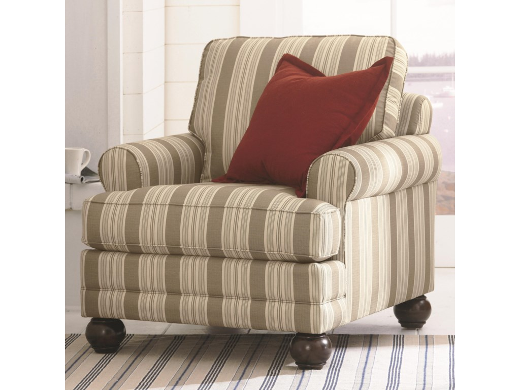 Bassett Custom Upholstery - Loft<b>Custom</b> Chair