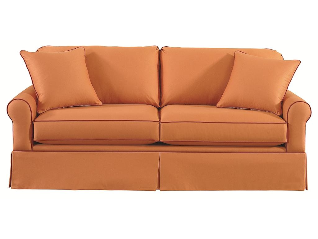 Bassett Custom Upholstery - Loft<b>Custom</b> Queen Sleeper