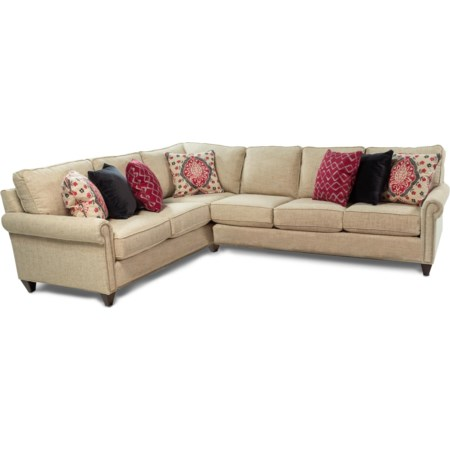 Customizable 2PC Sectional